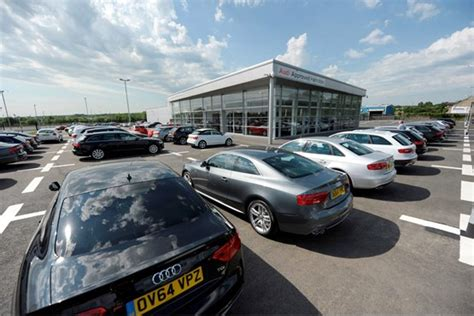audi dealer glasgow lookers opens audi used car superstore near glasgow car