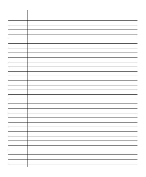 printable lined paper front and back lined paper 10 free word pdf psd documents download