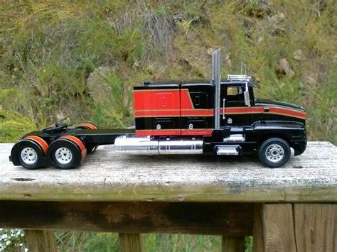 model trucks kenworth bunk t600 kenworth model trucks that i built