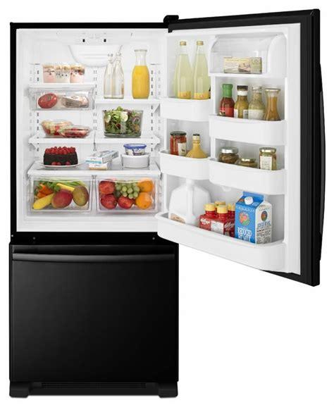 Bottom Drawer Freezer Refrigerator by Amana Abb1924br 29 Inch Bottom Freezer Refrigerator With
