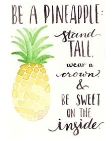 Bathroom Painting Ideas by 25 Best Pineapple Quotes Ideas On Pinterest Pineapple