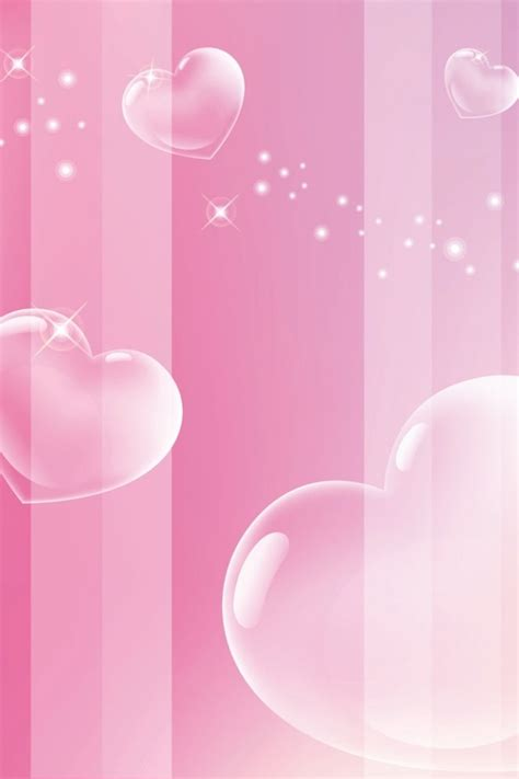 pink themes for iphone i love pink wallpaper wallpapersafari