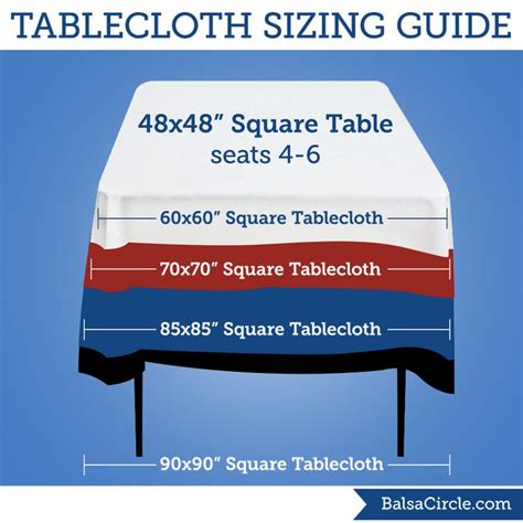 tablecloth on square table 16 best images about linen sizing guides on