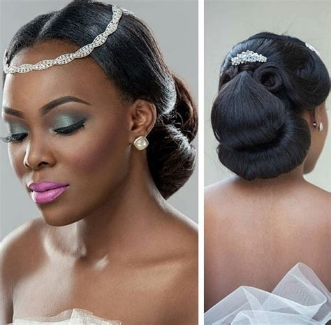 Hair Style In Nigeria by Bridal Hairstyles Wedding Hairstyles