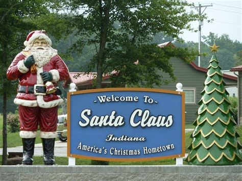 land of lights santa claus indiana top 10 best places to celebrate christmas countries of