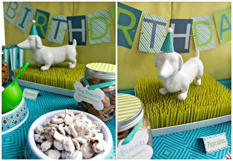 dog themed home decor it s a pawty puppy party first birthday part 1