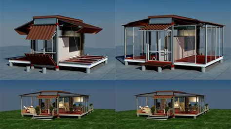 Make Your Own House Plans by Shipping Container House That Is Expandable And