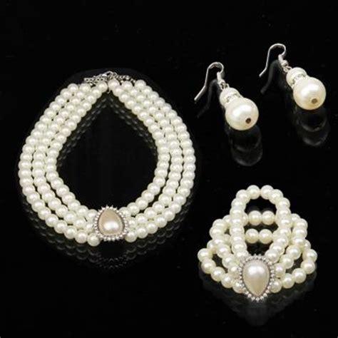 Hochzeitsschmuck Sets by Hochzeitsschmuck Set Halskette 3 99 Shopping