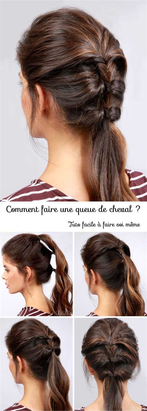 by phloss on ubat trendy hairstyles edition view of haircuts coiffure avec queue de cheval