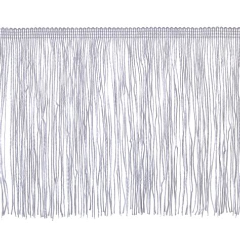 Upholstery Fringe Trim by 6 Quot Chainette Fringe Trim White Discount Designer Fabric