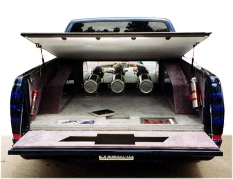 truck bed speakers sportruck com feature truck chevy thunder