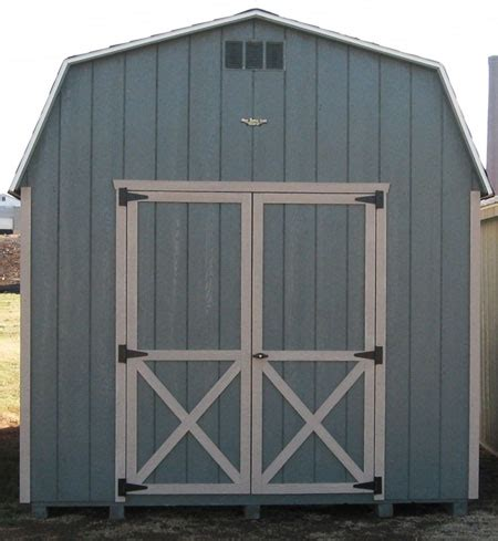 dutch barn wood shed kit