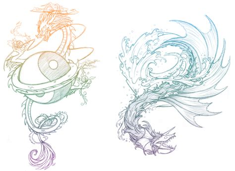 tattoo sketch dragon 404 not found deviantart