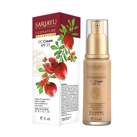 Harga Sariayu Gold Tinted Moisturizer jual sariayu econature nutreage cc spf 25 35 ml