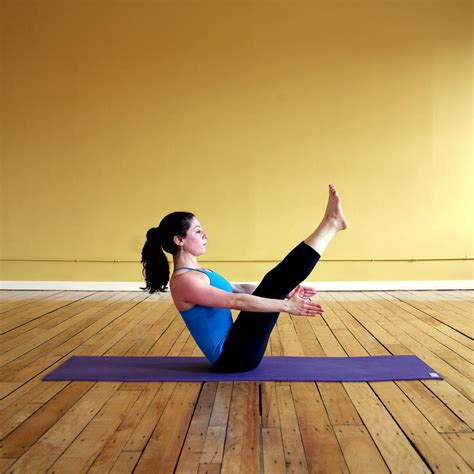 boat pose lower back pain yoga moves for sore back from running popsugar fitness