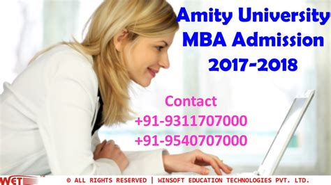 Amity Mba Fees 2017 by Amity Mba Admission 2017 2018 Registration
