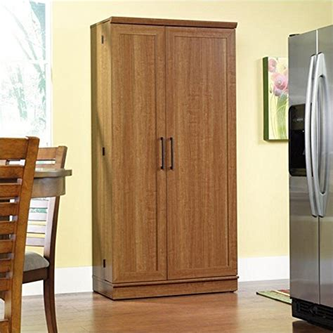 sauder home plus oak storage cd storage cabinet wood home furniture design
