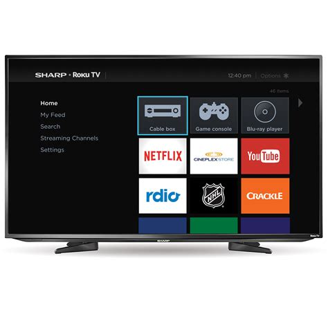 Tv Sharp Model Tabung from the big screen to your home sharp roku tv takes entertainment to the next level new