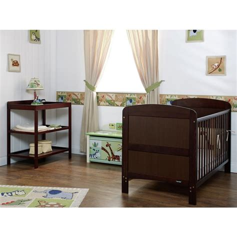 Walnut Nursery Furniture Sets Buy Obaby Grace 2 Nursery Furniture Set Walnut At Argos Co Uk Your Shop For