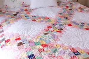 Quilt As You Go free pattern scrappy irish chain by jessie fincham