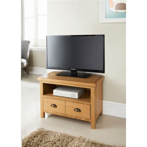 Corner Bed Units Wiltshire Oak Compact Tv Unit Living Room Furniture B Amp M