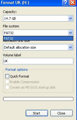 fat32 format a usb drive free to convert usb flash drive from fat32 to ntfs