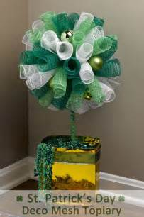 diy a 30 minute tops st s day topiary crafts n coffee