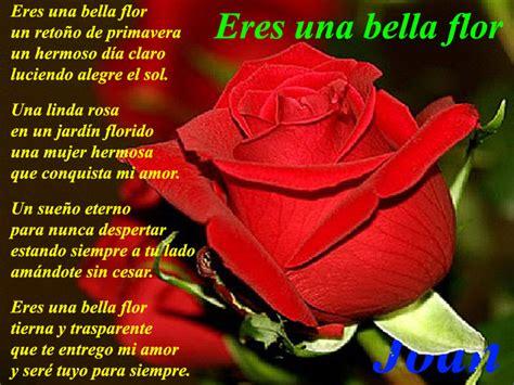 imagenes de amor para una bella dama eres una bella flor tierna y transparente poemas de amor