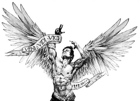 tattoo angel zyzz zyzz bodybuilding workout routine