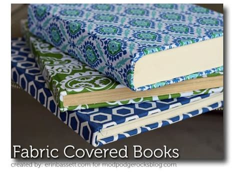 pattern fabric covered photo album fabric covered books for home decor mod podge rocks