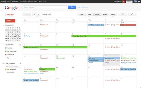 calendar is my u of t