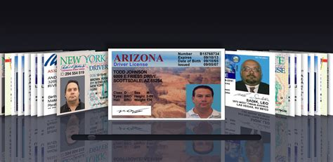 free state id card templates best photos of id template driver