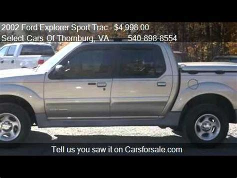 car maintenance manuals 2002 ford explorer sport on board diagnostic system 2002 ford explorer sport trac value manual for sale in fre youtube