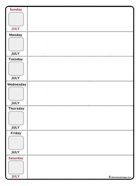 printable july daily calendar january 2018 daily calendar january 2018 weekly calendar