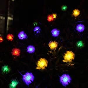 outdoor solar tree lights 20 fur solar string lights for outdoor tree wedding