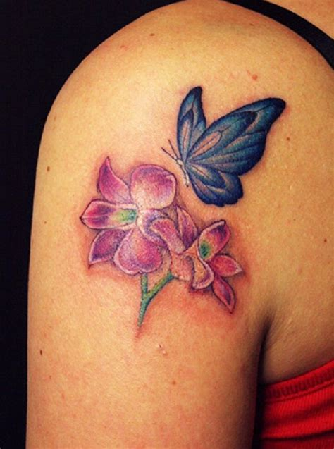 tattoo placement software 50 butterfly tattoos with flowers for women for women