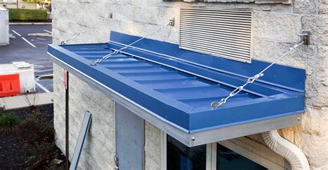 awning flashing metal canopy with standing seam roof bensalem metal