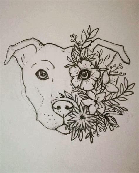 tattoo outlines pinterest dog face outline tattoos golfian com