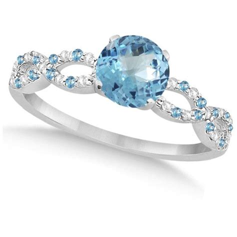 blue engagement rings blue topaz engagement ring meaning engagement ring usa