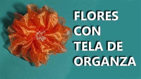 como hacer manualidades para vender como hacer flores con tela organza manualidades para