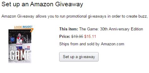 giveaway review signal blog - Amazon Giveaway Review