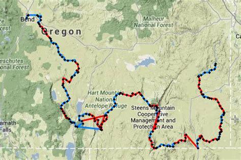Google Maps Oregon by Oregon Desert Trail
