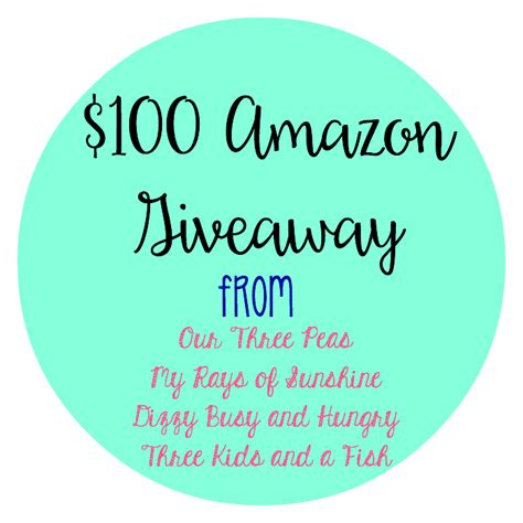 Amazon Giveaway Rules - three kids and a fish wine d down wednesday giveway