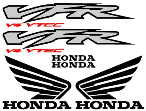 Honda Vfr 800 Vtec Aufkleber by High Quality Sticker Honda Vfr 800 2002 Smodel Full Decal Set