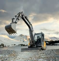 Volvo Excavator Wallpaper Volvo Ec55c Compact Excavator When Productivity
