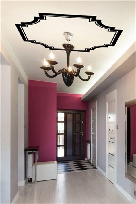 canopy molding ceiling art decals diy walltat wall decals