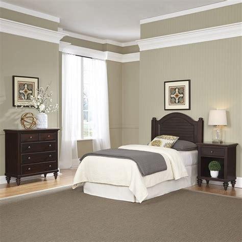 headboard set twin headboard 3 piece bedroom set in espresso 5542 4016