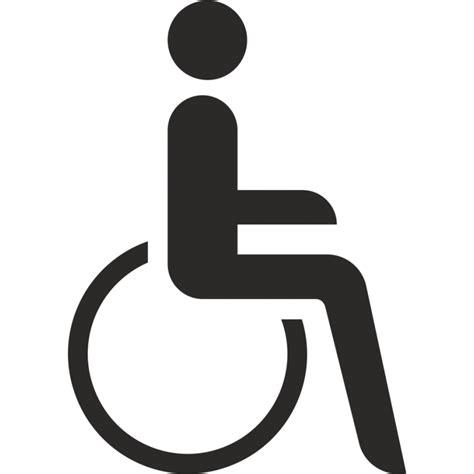 Aufkleber Ohne Hintergrund by Behindertentoilette Aufkleber Ohne Hintergrund F 252 R Innen