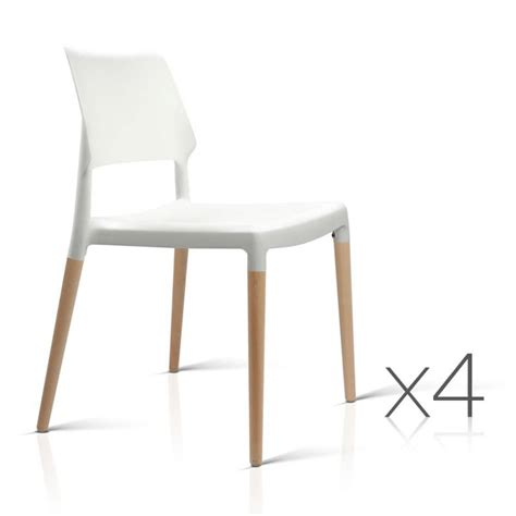 Where To Buy Dining Chairs by 4x Belloch Replica Dining Chairs In White Buy Furniture