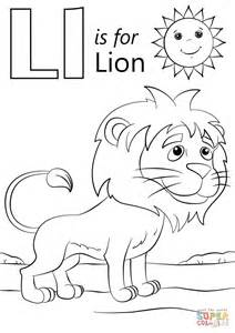 Xth cp letter click the l is for lion coloring pages to view printable